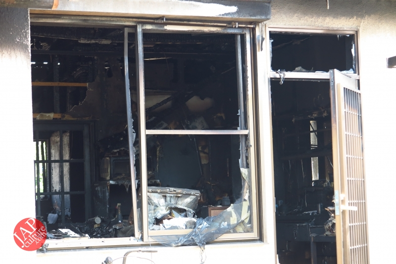 Is Sales promotion after fire burned down helpful or disgusting? (5)