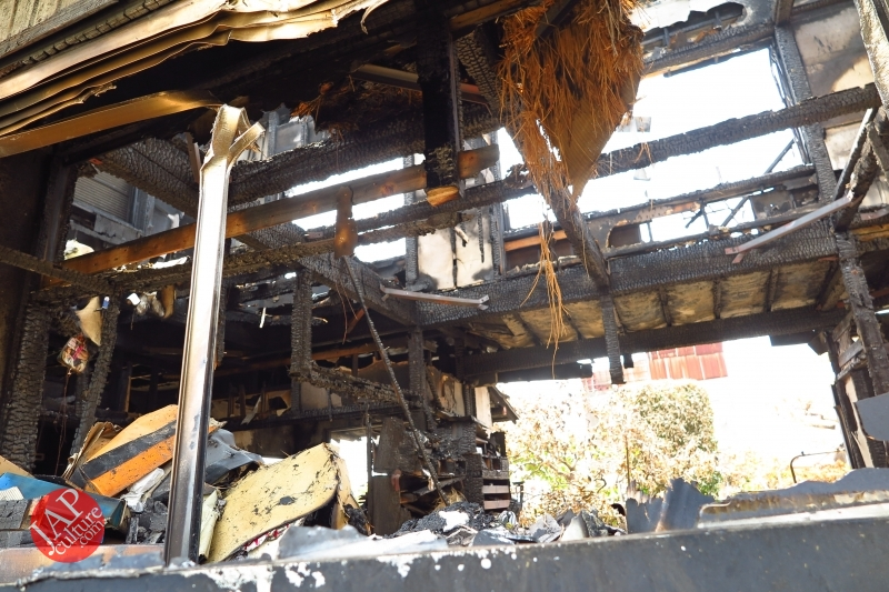 Is Sales promotion after fire burned down helpful or disgusting? (15)