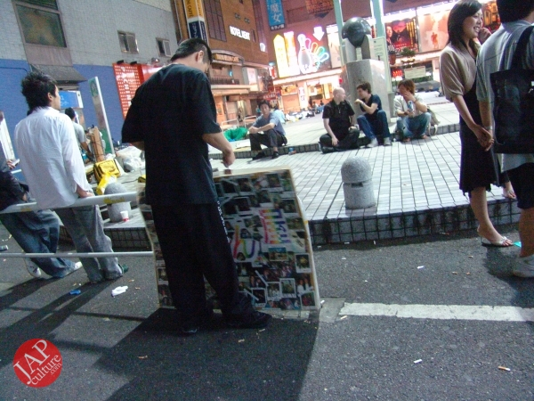 Exciting real street fight show at dangerous town, Kabukicho (55)