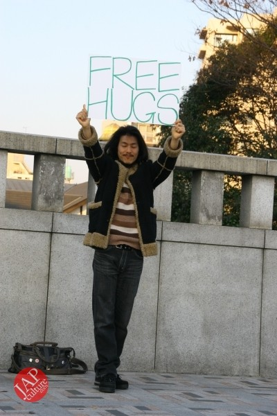 Free hugs struggle in Japan vol.1 Can we do it really smoothly and naturally? (7)