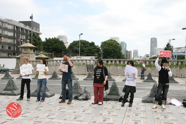 Free hugs struggle in Japan vol.1 Can we do it really smoothly and naturally? (15)