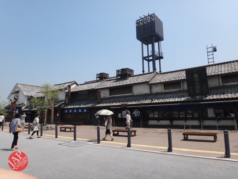 New Japanese historical town on the highway with traditional foods, Hanyu parking (25)