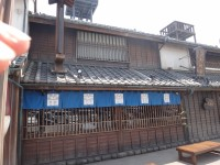 New Japanese historical town on the highway with traditional foods, Hanyu parking (21)