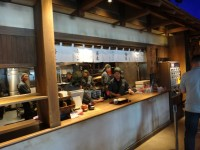 New Japanese historical town on the highway with traditional foods, Hanyu parking (17)