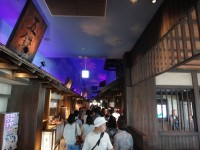 New Japanese historical town on the highway with traditional foods, Hanyu parking (15)