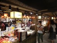 New Japanese historical town on the highway with traditional foods, Hanyu parking (5)
