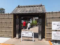 New Japanese historical town on the highway with traditional foods, Hanyu parking (30)