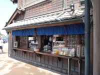 New Japanese historical town on the highway with traditional foods, Hanyu parking (29)