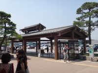 New Japanese historical town on the highway with traditional foods, Hanyu parking (28)